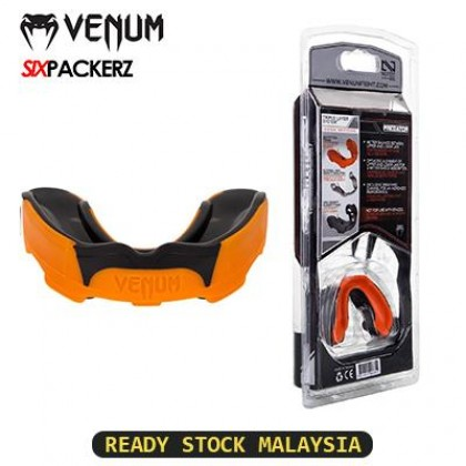 VENUM Predator Mouthguard Competition Series Teeth Protector Mouth Guard MMA Boxing - orange