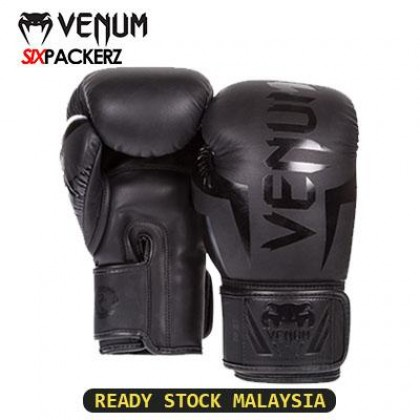 [READY STOCK] VENUM Professional Boxing Muay Thai Training Punching Bag Gloves 12oz-YELLOW