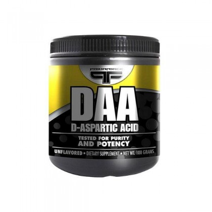 PrimaForce D-Aspartic Acid , DAA 100g Unflavoured Testosterone Booster