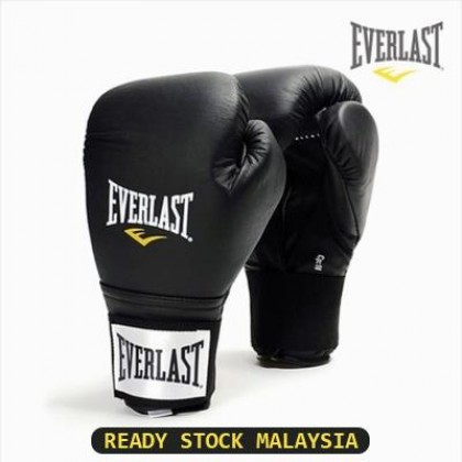 [READY STOCK] EVERLAST Professional Boxing Muay Thai Training Punching Bag Gloves 12oz