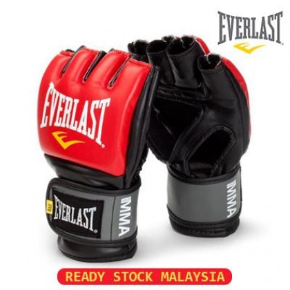 [READY STOCK] EVERLAST MMA Grappling Gloves Sport Gloves Boxing Gloves UFC Gloves