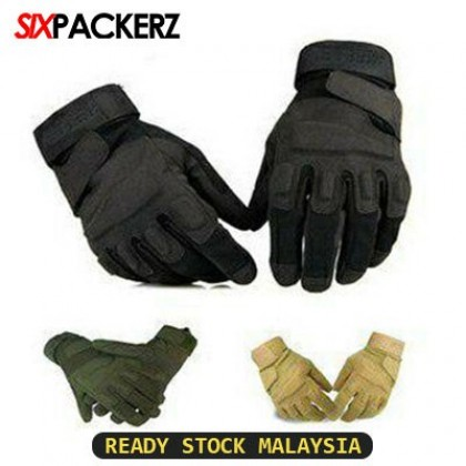 Full Finger Hiking Outdoor Sports Glove Camping Tactical Hunting Motorcycle Military Gloves Hiking Gloves