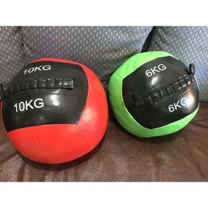Fitness Wall Ball Exercise Bola gym inelastic balance training weighted Medicine Ball 2kg / 4kg / 6kg / 8kg / 10kg