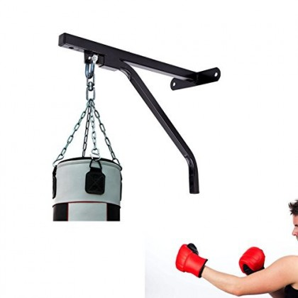 Boxing Punch Bag Bracket Hanging Hook Stand Heavy Duty Punching Wall Mount Hanger
